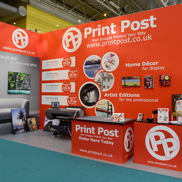 The Photography Show 2014 | Trade Show Stand Design | Front