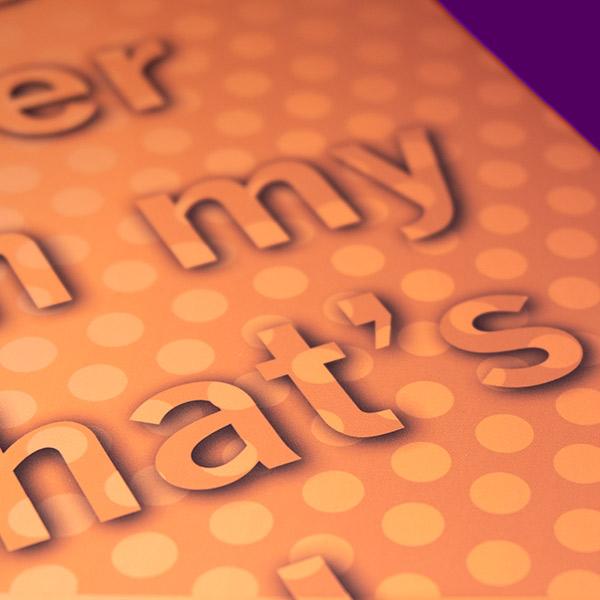 Motivational | Poster Design | Fail Succeed Close Up