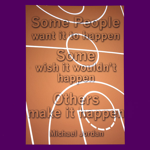Motivational | Poster Design | Michael Jordan