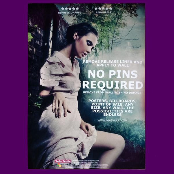 Promotional Cinema Style   Poster Design   Pink Dress