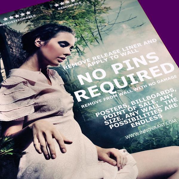 Promotional Cinema Style   Poster Design   Pink Dress Close Up
