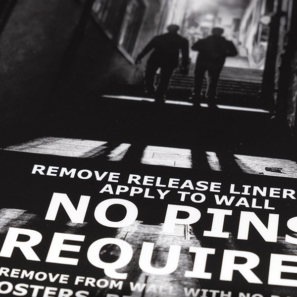 Promotional Cinema Style   Poster Design   Street Close Up