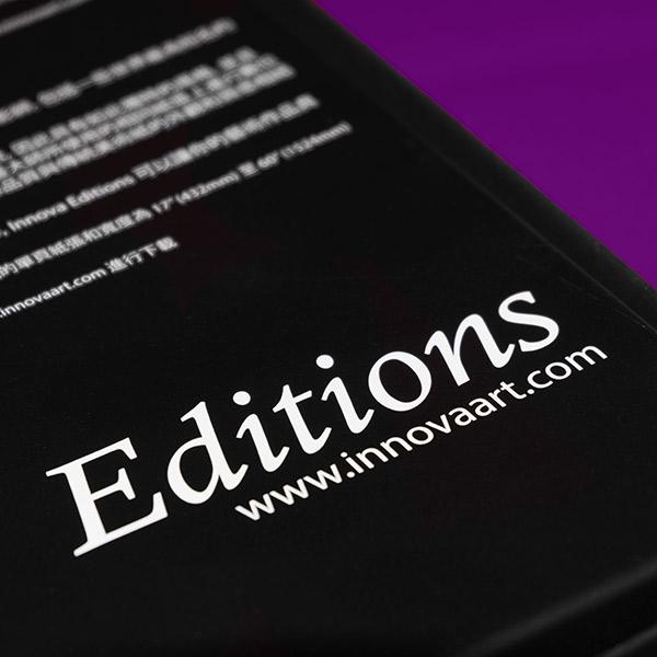 Innova Editions   Packaging Design   Sheet Box Back Close Up