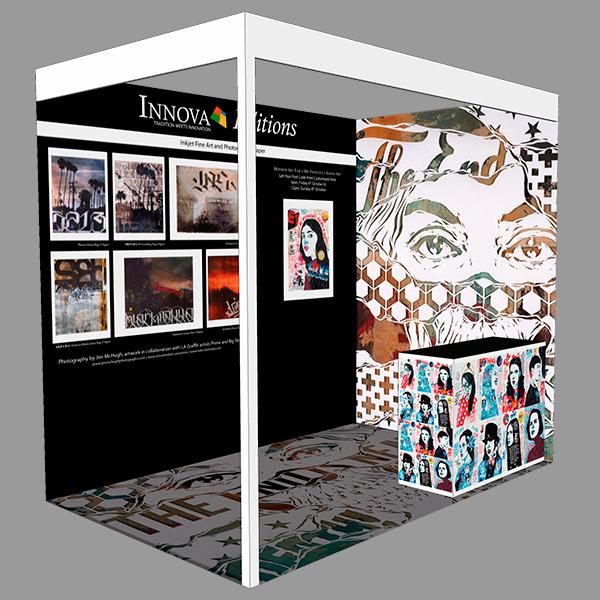 Moniker Art Fair 2017   Exhibition Stand Design Concept   Left