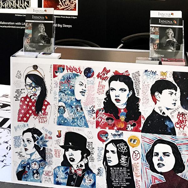 Moniker Art Fair 2017   Exhibition Stand Design   Counter Detail
