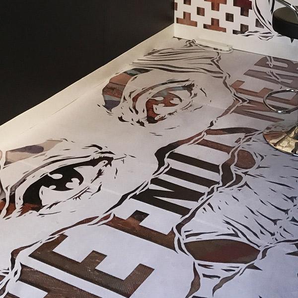 Moniker Art Fair 2017   Exhibition Stand Design   Floor Detail
