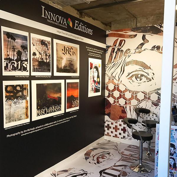 Moniker Art Fair 2017 | Exhibition Stand Design | Left