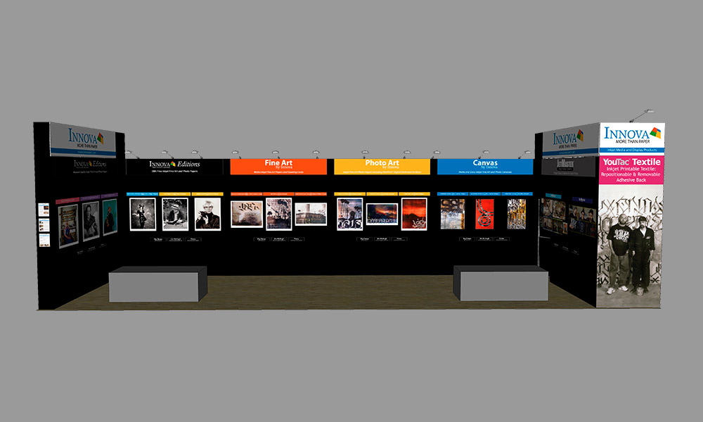 Photo Plus Expo 2017 | Trade Show Stand Design Concept | Front