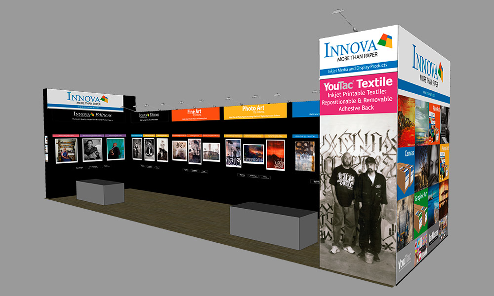 Photo Plus Expo 2017 | Trade Show Stand Design Concept | Right