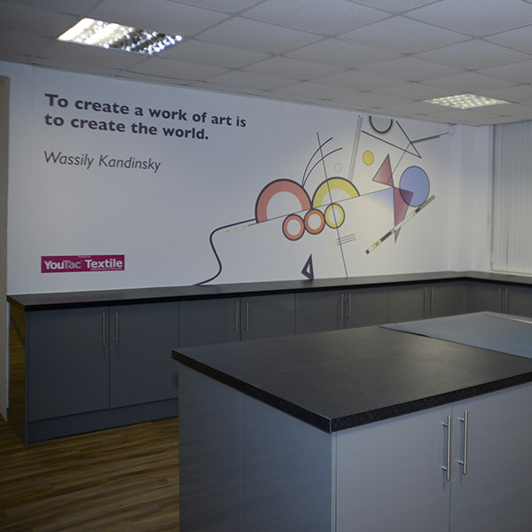 Innovation Hub Andover | Interior Design | Print Studio Artwork