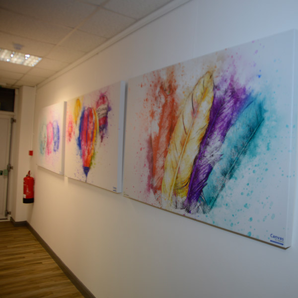 Innovation Hub Andover | Interior Design | Print Studio Canvas Display