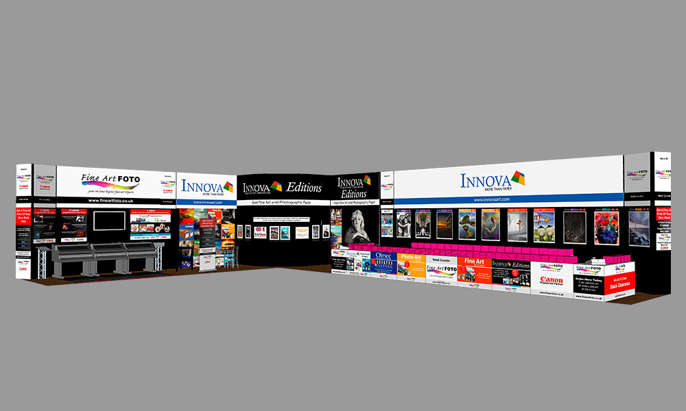 The Photography Show 2018 | Trade Show Stand Design Concept | Front