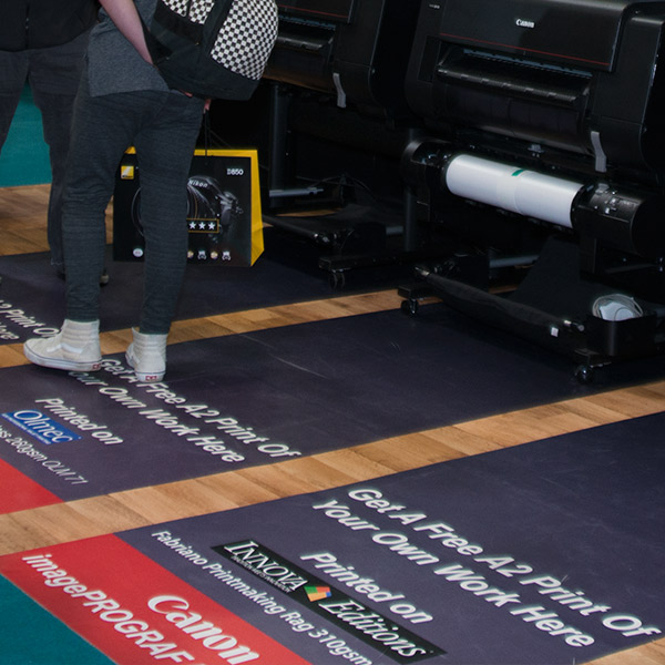 The Photography Show 2018 | Trade Show Stand Design | Floor Graphics