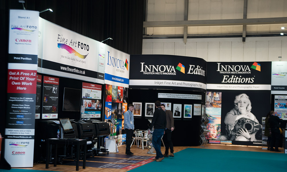 The Photography Show 2018 | Trade Show Stand Design | Left