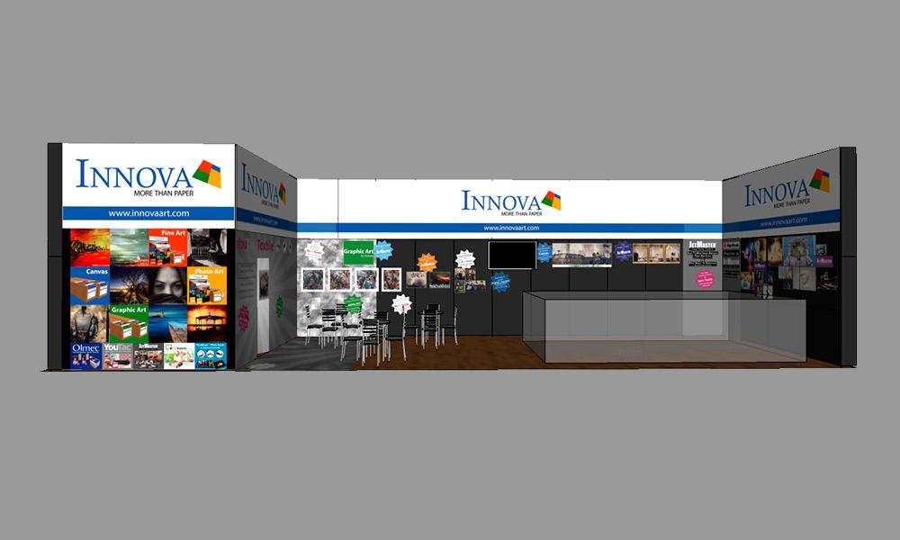 FESPA 2018 | Trade Show Stand Design Concept | Front