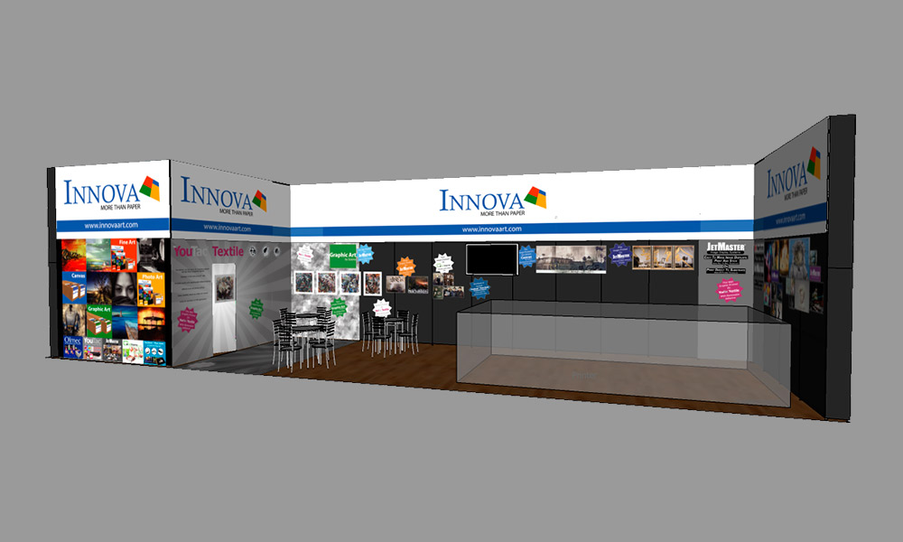 FESPA 2018 | Trade Show Stand Design Concept | Right
