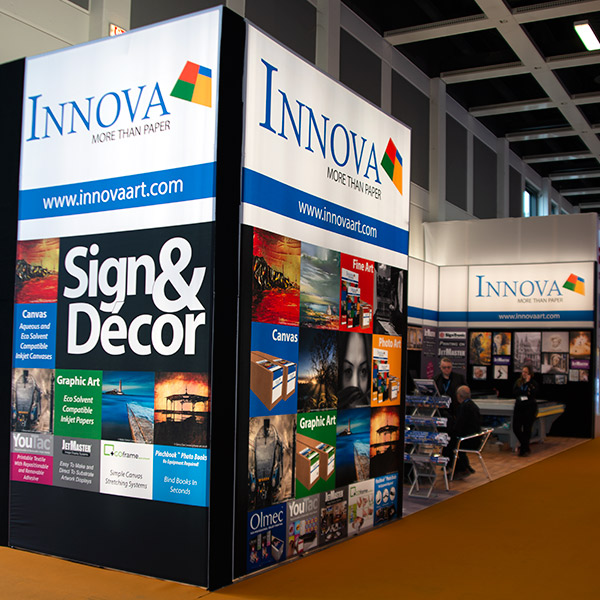 FESPA 2018 | Trade Show Stand Design | Sign & Decor Lightbox