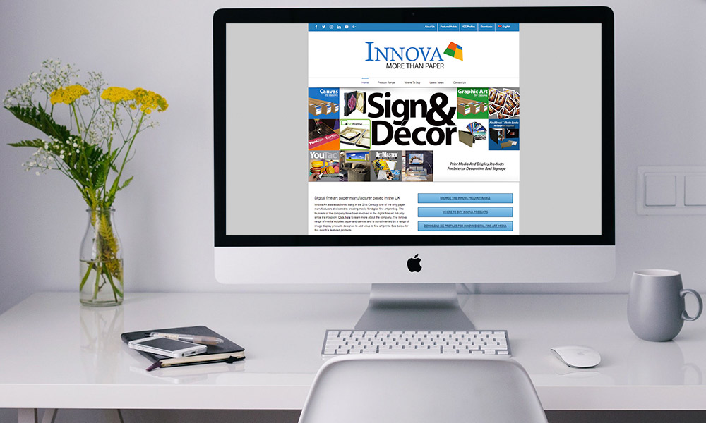Sign & Decor | User Experience Design | Website Home Banner