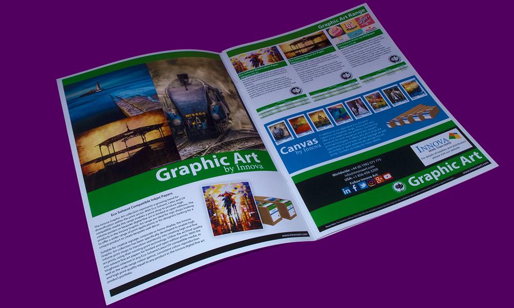 Sign & Decor | Literature Design | Product Guide: Innova Graphic Art Page