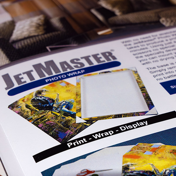 Sign & Decor | Literature Design | Product Guide: JetMaster Photo Wrap