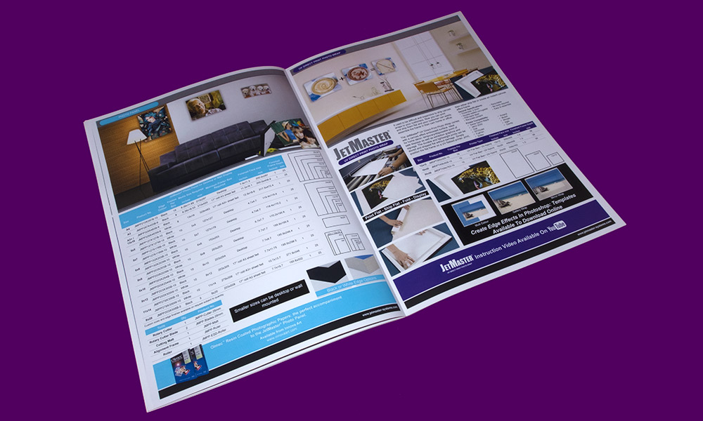 Sign & Decor | Literature Design | Product Guide: JetMaster Pages