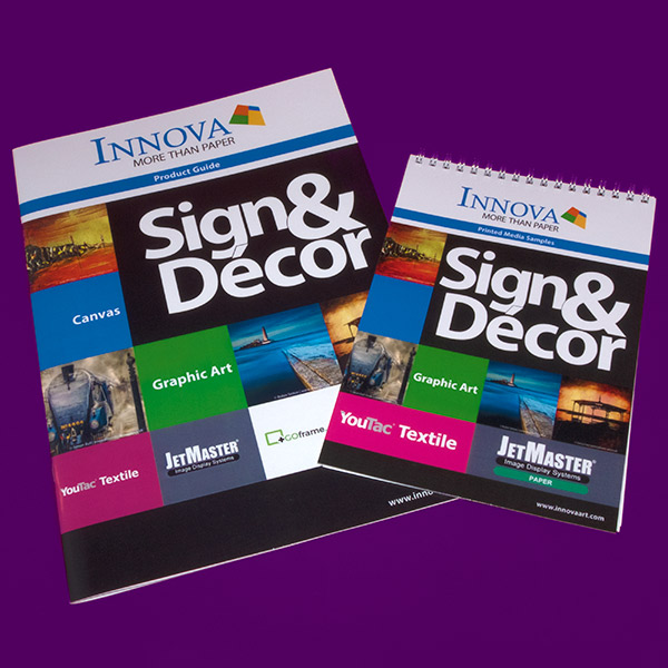 Sign & Decor | Literature Design | Product Guide and Swatch Book Covers
