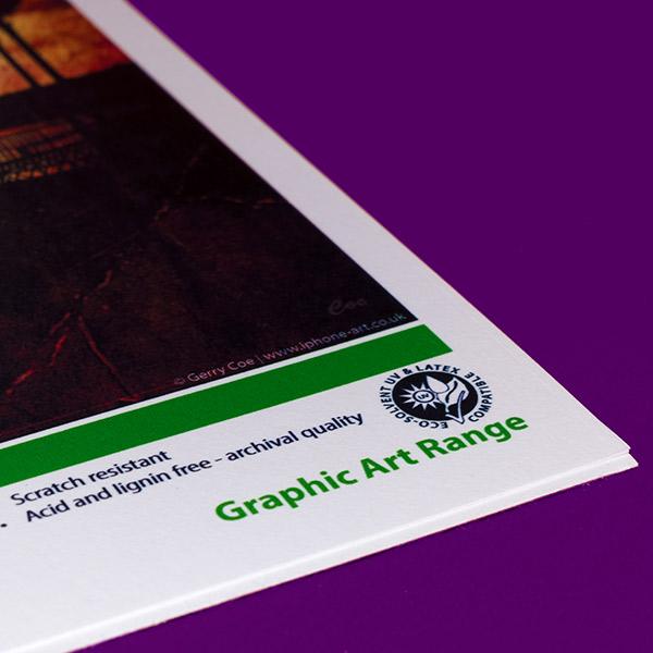 Sign & Decor | Literature Design | Swatch Book: Graphic Art Ink Type