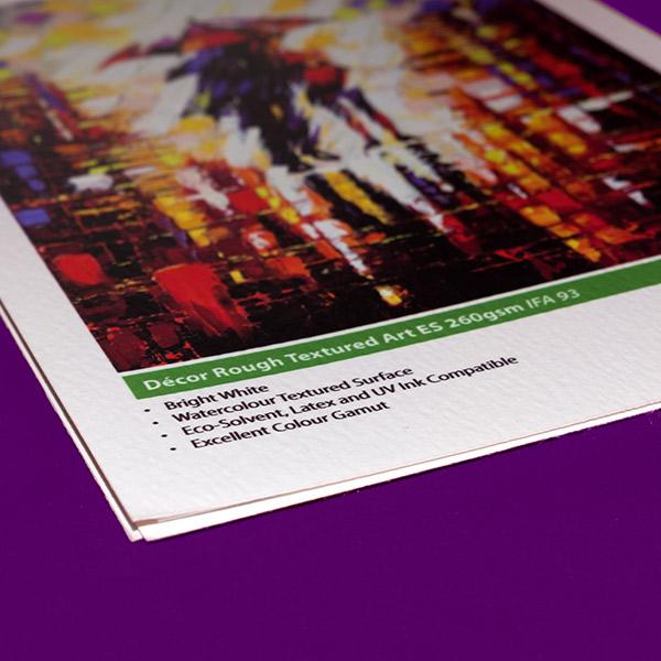 Sign & Decor | Literature Design | Swatch Book: Graphic Art Watercolour Paper