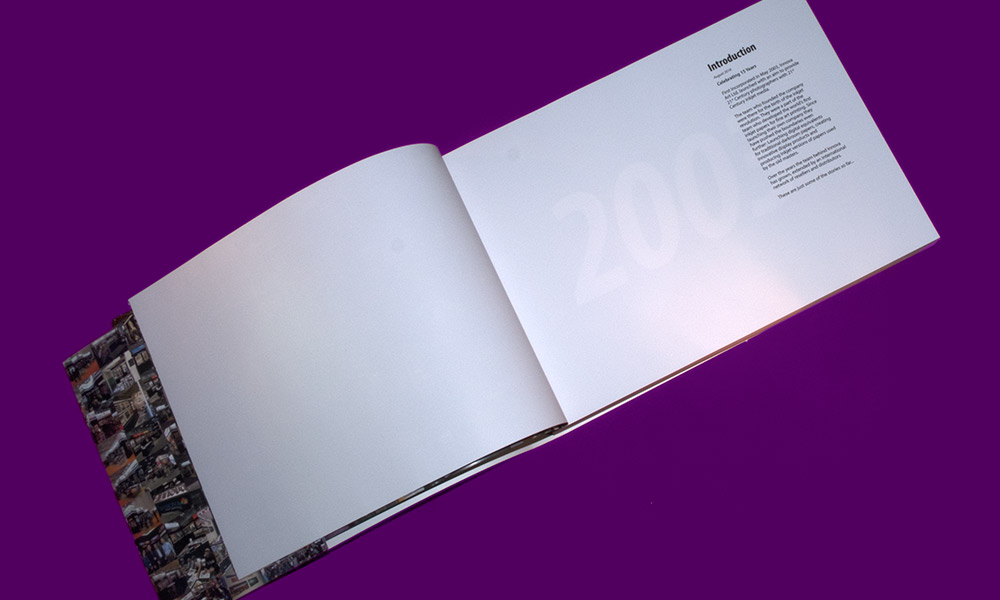 Fifteen Years of Innova Art | Book Design | Introduction Page