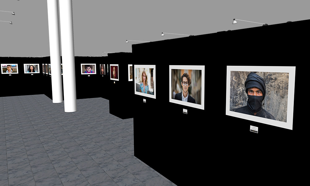 Photokina 2018 | Trade Show Gallery Stand Design Concept | Interior Left