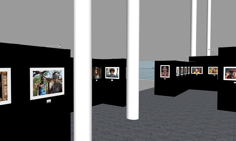 Photokina 2018 | Trade Show Gallery Stand Design Concept | Interior Right