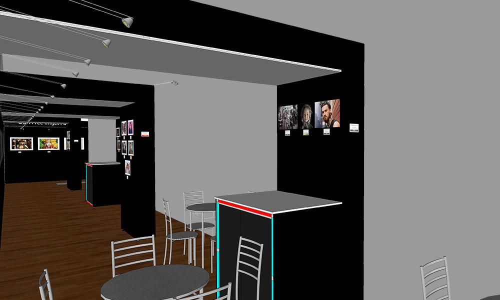 Photokina 2018 | Trade Show Stand Design Concept | Under Left Archways