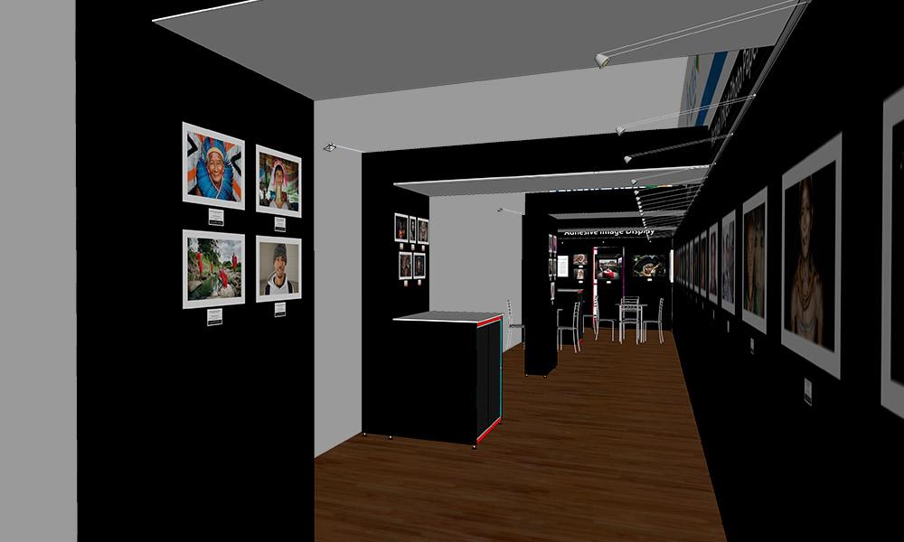Photokina 2018 | Trade Show Stand Design Concept | Archway Interior Right
