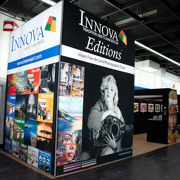 Photokina 2018 | Trade Show Stand Design | Large Lightboxes