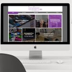 Portfolio | Website Design | iMac Home Page